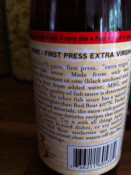 Review atlanta for Red boat fish sauce ingredients