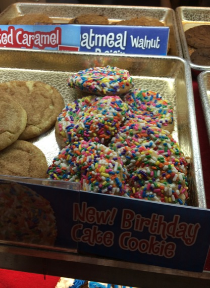 Cookies At Great American Are Sickly Sweet The Birthday Cake Cookie With Sprinkles Definitely Tops List Of Sweetest